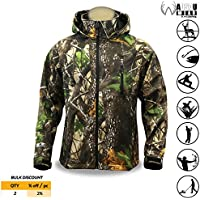 KwikSafety HUNTSMAN | Camo Rain Suit & Camo Soft Shell...