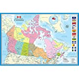 Map Of Canada Poster Print (36 x 24)
