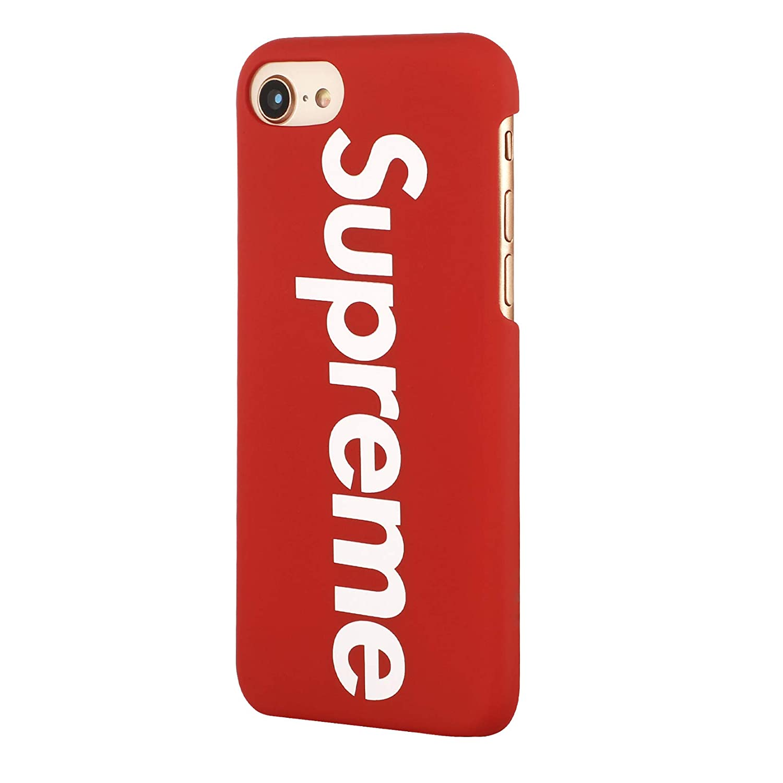 Adecuado en el dise/ño Supreme Compatible con Apple iPhone 11-6,1, Transparente Cubierta Protectora Cubierta Ultra-Delgada SUP PC Case Cubierta Dura Mate Fina