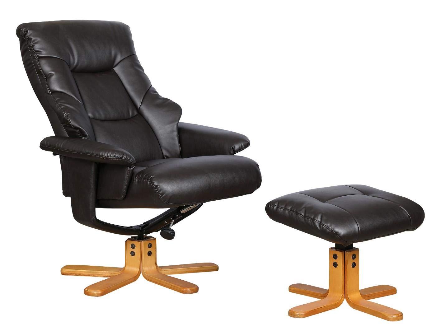 Phenomenal Gfa Shanghai Bonded Leather Swivel Recliner Chair Matching Evergreenethics Interior Chair Design Evergreenethicsorg