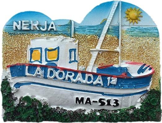 Weekinglo Souvenir Imán de Nevera Andalucía Nerja España Resina 3D ...