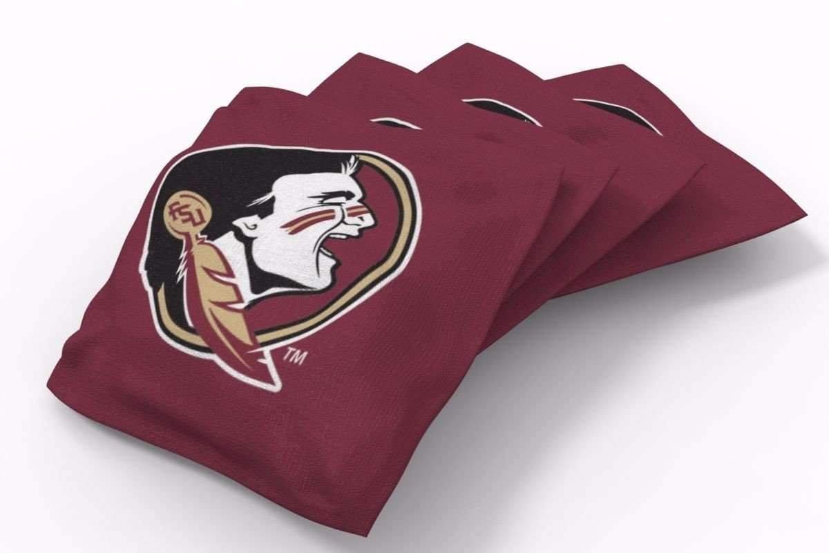 PROLINE 6x6 NCAA College Florida State Seminoles Cornhole Bean Bags - Solid Design (A)