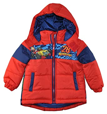 fc0ef3d69061 Amazon.com  Mickey Mouse Little Boys  Toddler Roadster Mickey Puffer ...