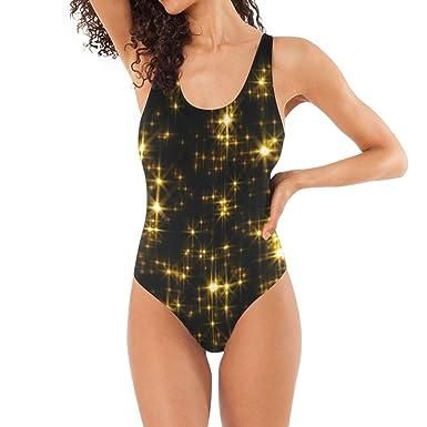 KANATSIU Women Bikini Glamorous Falling Confetti Motion One