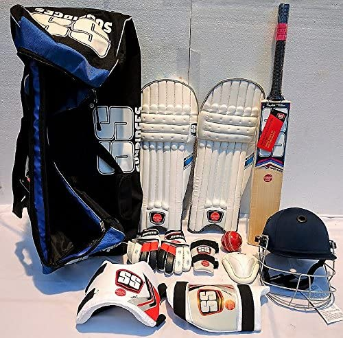 Amazon.com: SS English Willow - Kit completo de cricket de ...