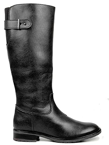 Will's Vegan Shoes Knee Length Boots Black