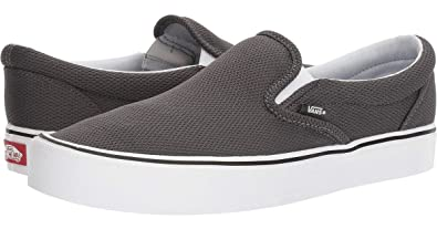 d26dc684477 Vans Unisex Slip-On Lite (Mesh) Asphalt Loafers and Moccasins - 7 UK ...