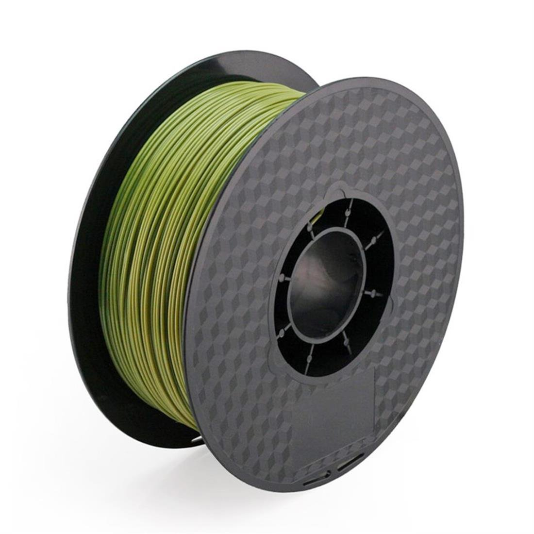 Uniqstore 3D-Drucker Material 1,0 kg 2,2 lb 1.75 mm Armee grün PLA Filament Military Green Direct Hersteller Grün