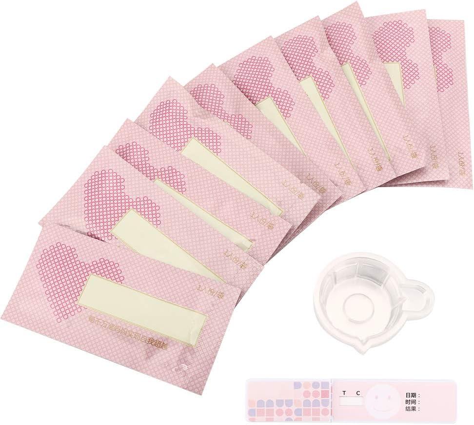 Tira de prueba de ovulación de 10 piezas, prueba de ...
