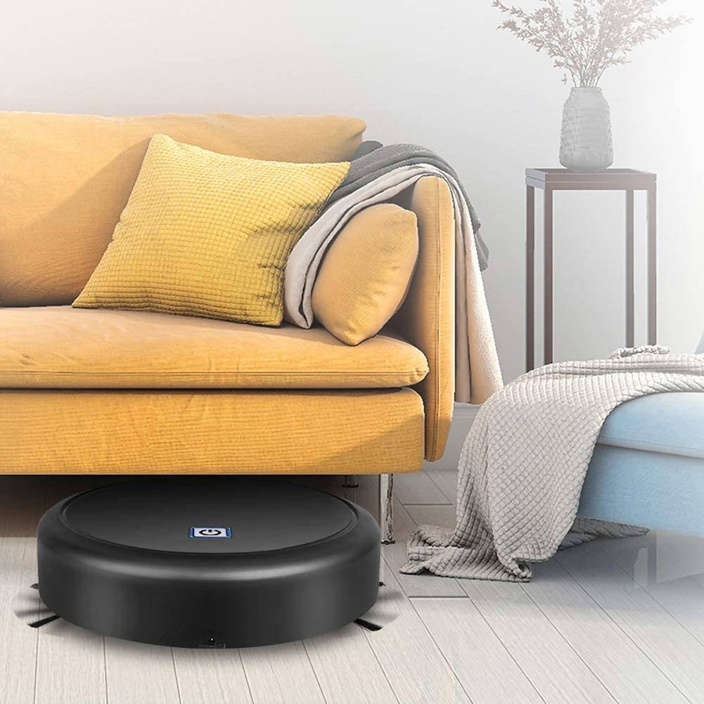 pisos duros aspiradora robot de carga USB silenciosa para pelo de mascotas Yalatan Aspiradora robot 3 en 1 alfombras azulejos aspiradora aspirador robot con succi/ón potente