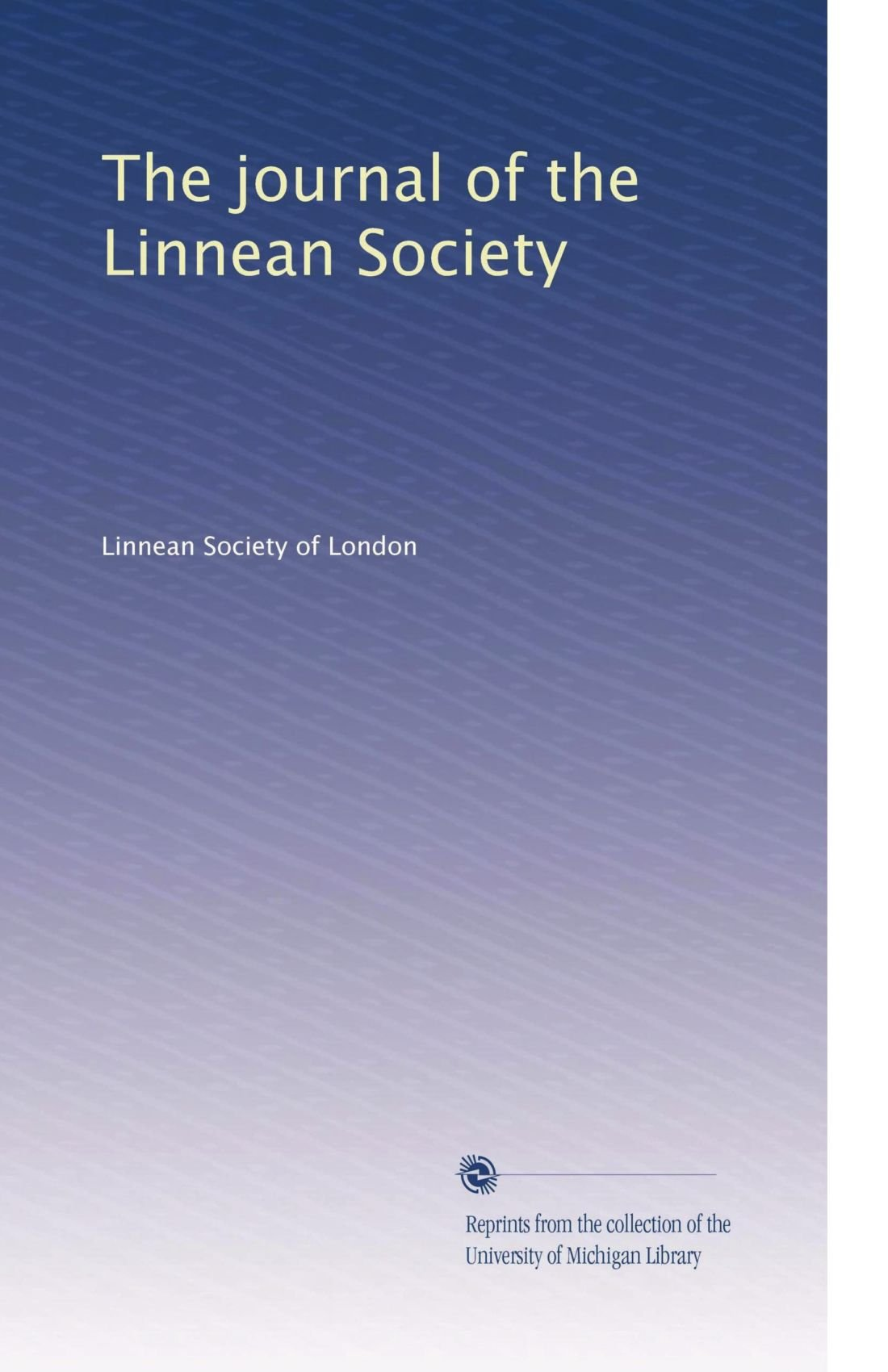 Download The journal of the Linnean Society pdf