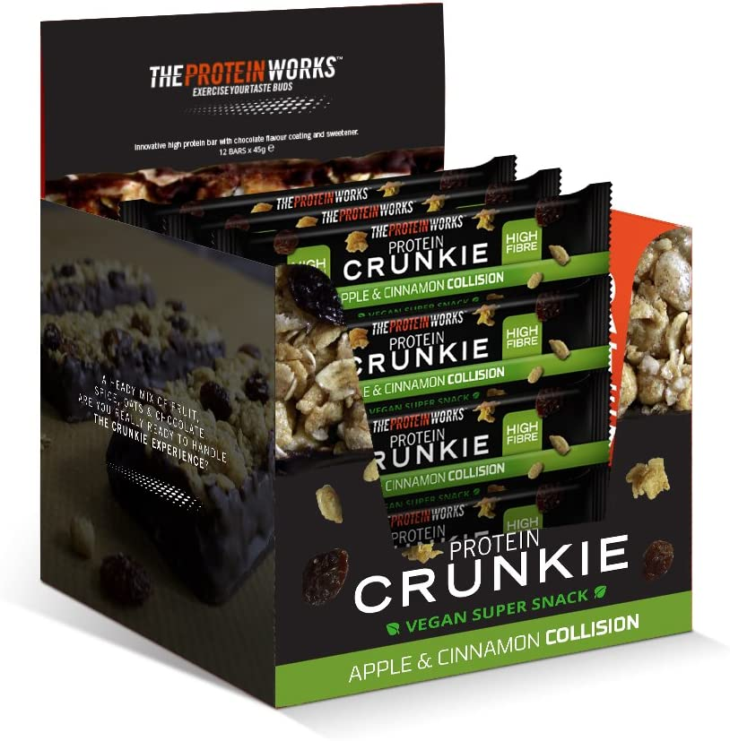 The Protein Works Vegan Protein Crunkies