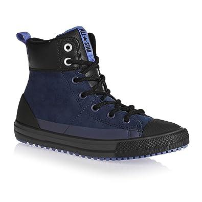 d97ef429afb5 Converse Chuck Taylor All Star Asphalt Boot Hi Navy Oxygen Blue Black  (Little