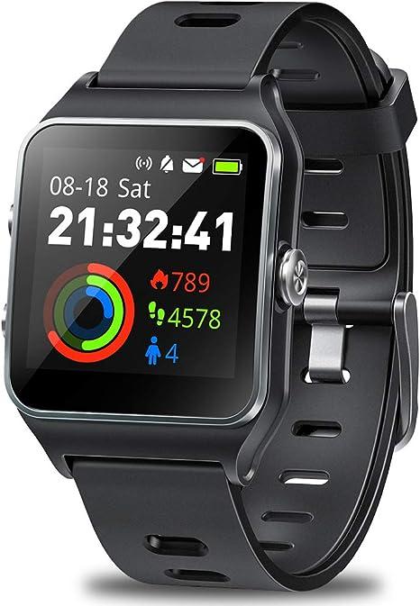 DR.VIVA Reloj GPS para Hombres y Mujeres, Rastreador de Actividad ...