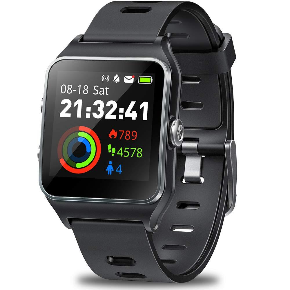 DR.VIVA GPS Watch for Men Women, Activity Tracker GPS Running Watch Touch Screen Smart Watch Heart Rate/Sleep/Step…