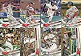 2017 Topps Series 1 Boston Red Sox Team Set 16 Cards Included in 100 Card Assorted Lot All Red Sox Cards From 2010-2016 No Duplicates Mookie Betts David Ortiz Yoan Moncada Andrew Benintendi…