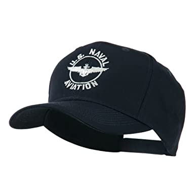 E4hats US Naval Aviation Wings Embroidered Cap - Navy OSFM at Amazon ... 92973bbb135