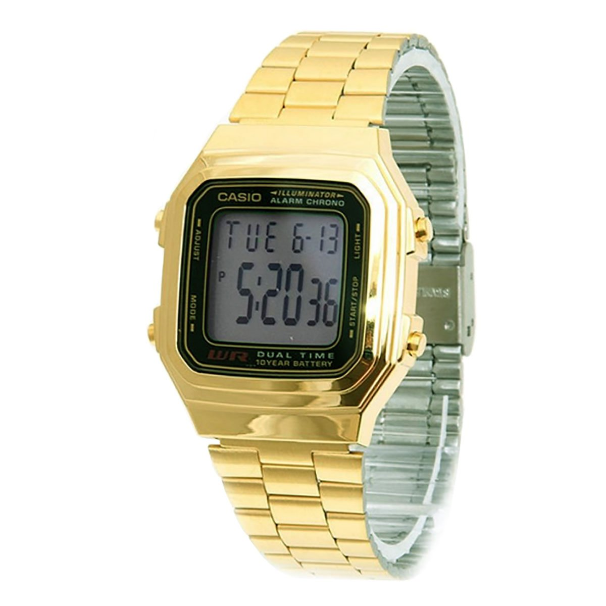 Amazon.com: Casio General Mens Watches Digital A-178WGA-1AUDF - WW: Watches