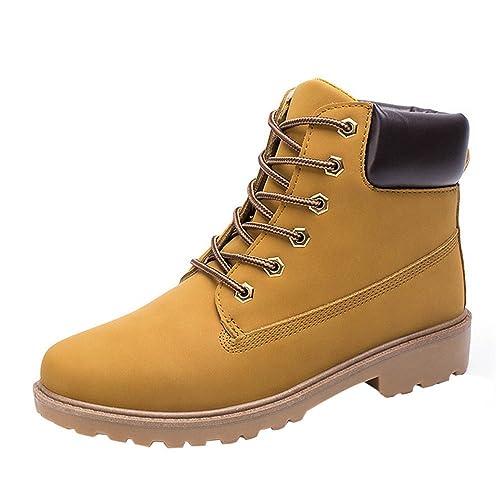 Btruely Herren Moda Invierno Zapatos Boots Botines Botas de Nieve Botas para Hombre: Amazon.es: Zapatos y complementos
