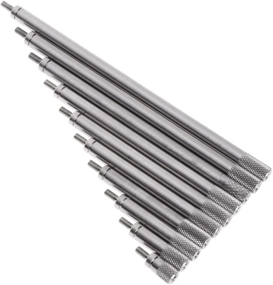 60 mm Screw Length Modern Design Style Electrolytic-Polish Finish Metric Size 2 Kipp 06464-210X60 Stainless Steel Adjustable Handle with M10 External Thread