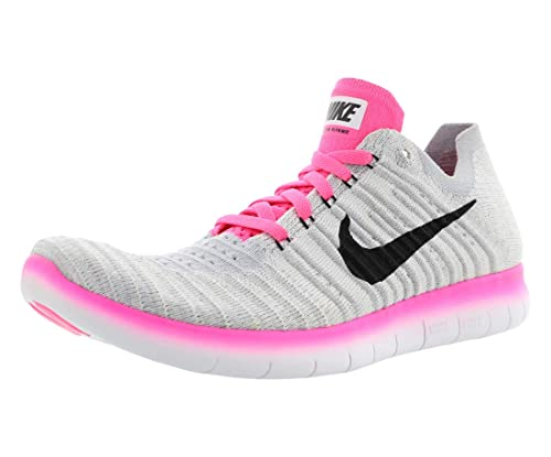 1c938fd6e5a6a Nike Free Rn Flyknit (Gs), Girls' Competition Running Shoes: Amazon ...