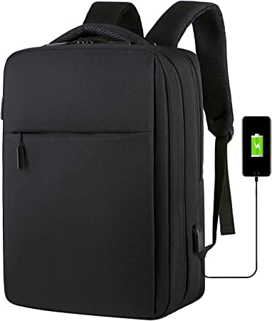 with USB Charging Port//Stylish Casual Waterproof Backpacks Fits Most 17//15.6 Inch Laptops and Tablets//for Work Travel School El Diablo Laptop Backpack