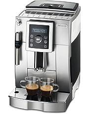 DeLonghi ECAM 23.420.SW - Máquina de café, 1450 W, 220-240V, 238 x 430 x 338 mm, 9100 g, color negro y plato