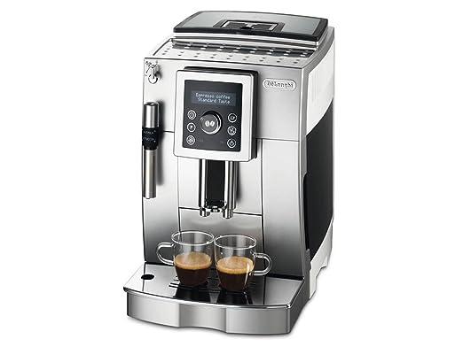 6 opinioni per De'Longhi ECAM 23.420.SW Macchina per il Caffè, Argento/Bianco