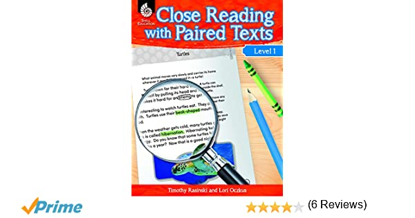 Close Reading with Paired Texts Level 1: Lori Oczkus;Timothy ...