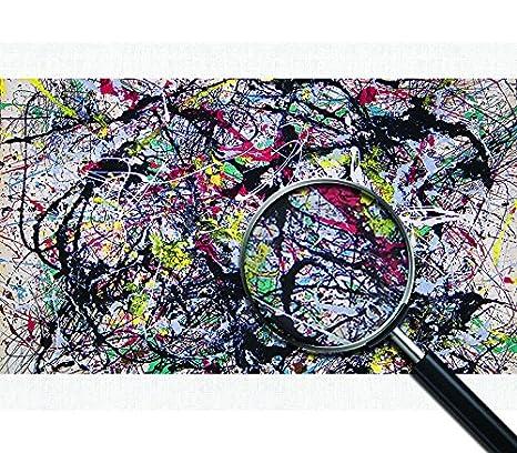 Alchemy Jackson Pollock   Poster Canvas Picture Art Print Premium Quality