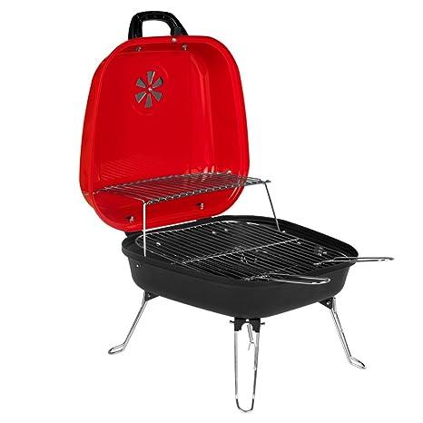 Aktive - Barbacoa de 4 patas convertible en maletín - 43x32 cm (ColorBaby 52736): Amazon.es: Jardín