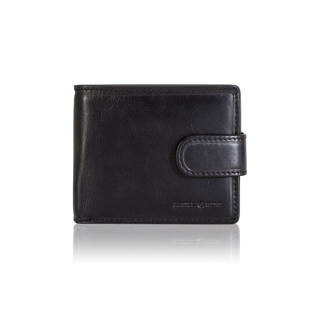 Jekyll and Hide Oxford Credit Card Case, 12 cm, Black 2790OXBL