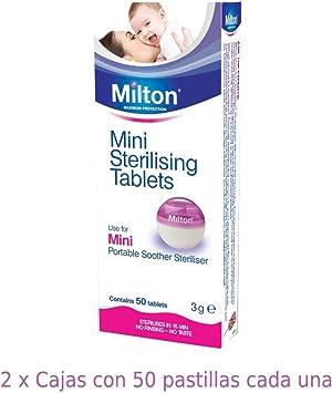 Milton Mini Tabletas Esterilizadoras - Pastillas para esterilizar ...