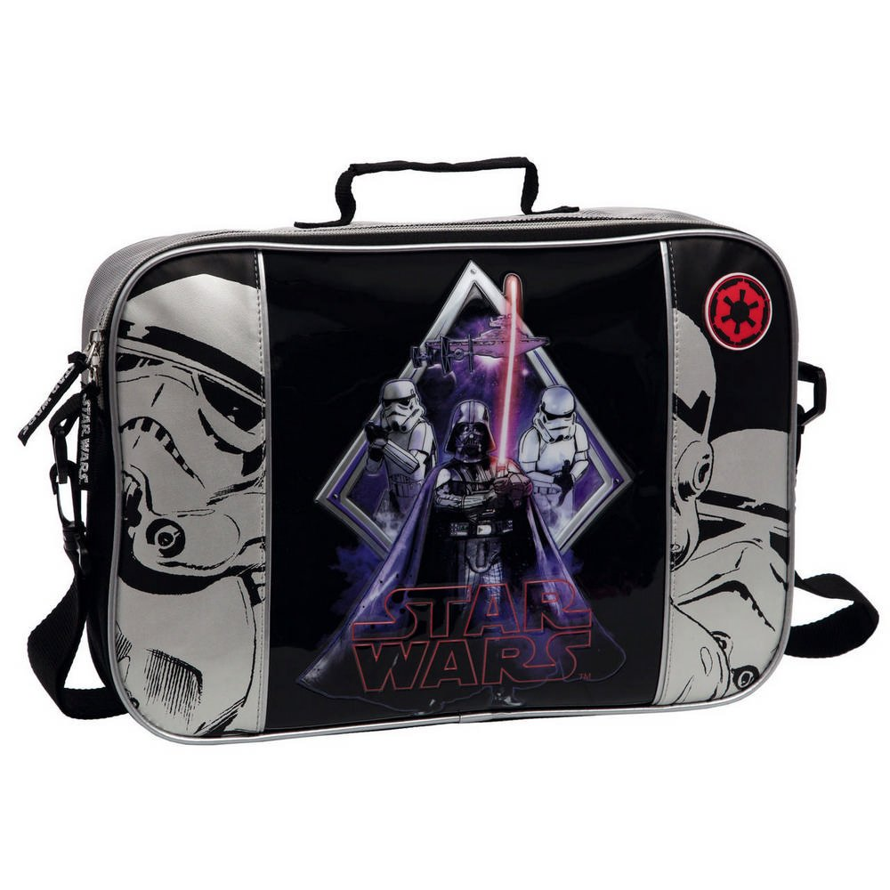 Star Wars Darth Vader Cartera Color Negro