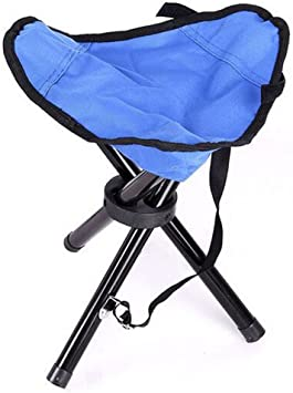 Amazon.com: Taburete de trípode plegable silla de camping ...