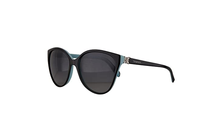 73a99fceac5 Tiffany   Co. TF4089B Sunglasses Black Blue w Polarized Grey ...