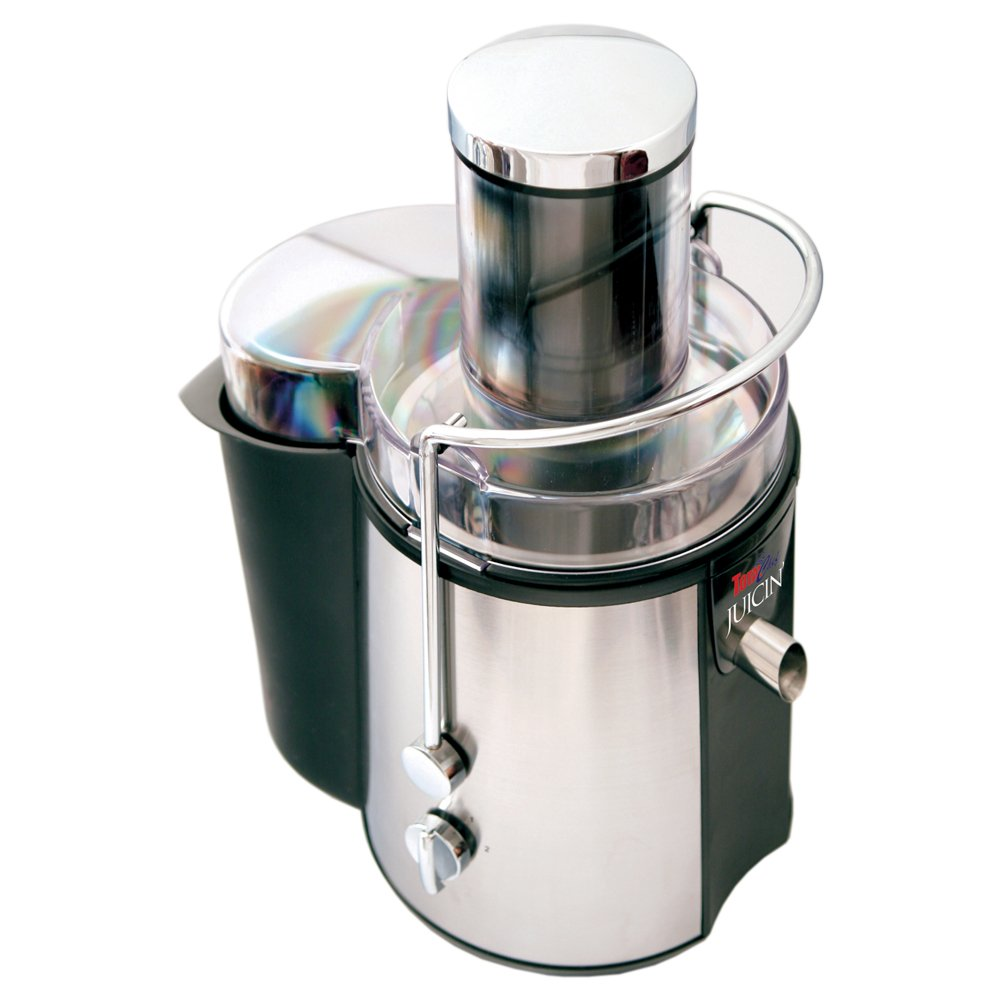 Koolatron KMJ-01 Total Chef Jucin' Power Juicer, Stainless Steel
