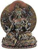 "CRAFTSTRIBE 9.5"" Tara Verde - Estatua de la Estatua del Budismo Coleccionable Escultura de Buda"