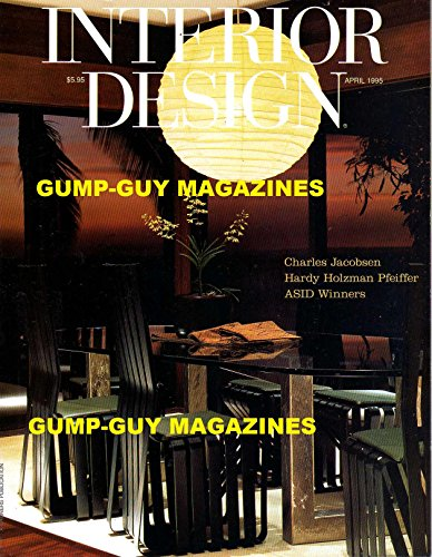 Cheap  Interior Design Magazine April 1995 Charles Jacobsen Hardy Holzman Pfeiffer ASID Winners