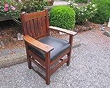 SUPERB L&jG Stickley Large Arm Chair w5011