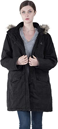 Mstyle Men Fleece Lined Removable Hoodie Plus Size Loose Fit Quilted Jacket Coat Outerwear