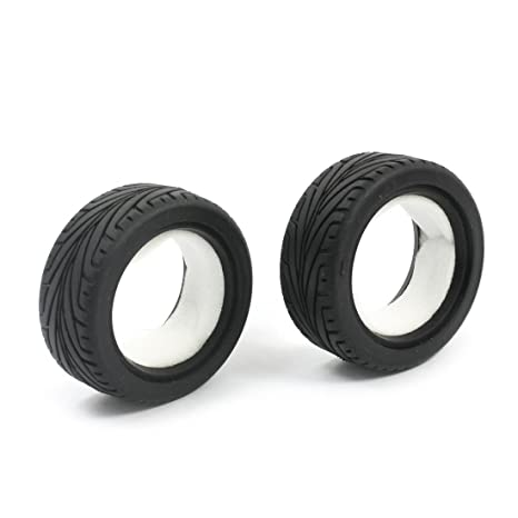 2pcs 65 mm de goma de la rueda del neumático por un modelo de RC 01