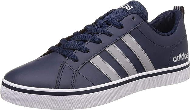 adidas VS Pace Sneakers Herren blau m. grauen Streifen
