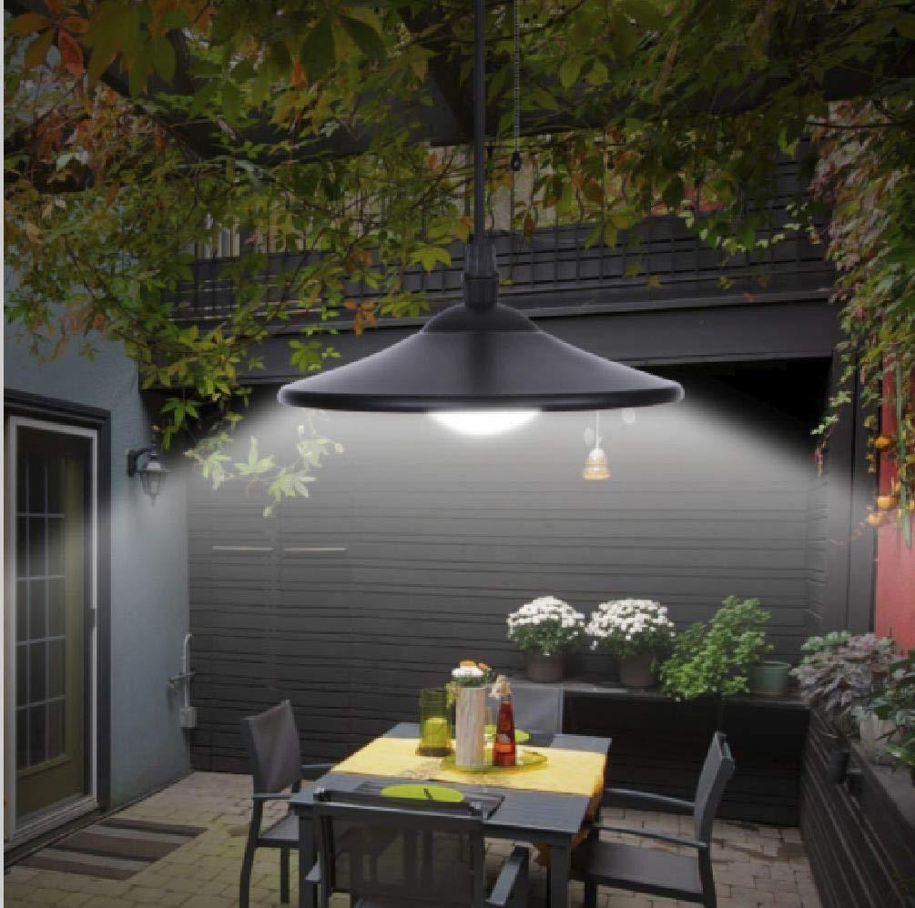 beijinda home series Vintage Solar Powered Recargable LED Garaje cobertizo luz Exterior jardín iluminación: Amazon.es: Hogar