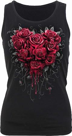 V-Neck Vest Top Blood Rose AO Spiral