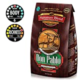 5LB Cafe Don Pablo Gourmet Coffee Signature Blend - Medium-Dark Roast Coffee - Whole Bean Coffee - 5 Pound ( 5 lb ) Bag