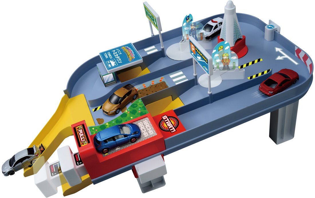 Starting! Get Action City in Tomica (japan import)