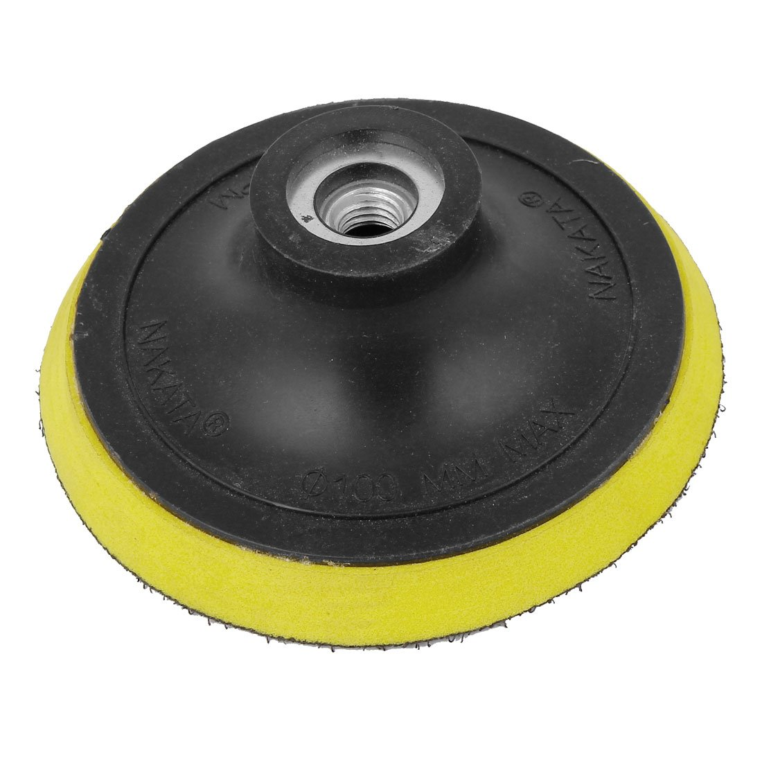 uxcell Angle Grinder Sanding Polishing Hook and Loop Backing Pad 4'' Dia