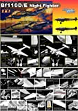 Dragon Models 1/32 Bf110D/E Night Fighter Wing Tech (2 in 1)