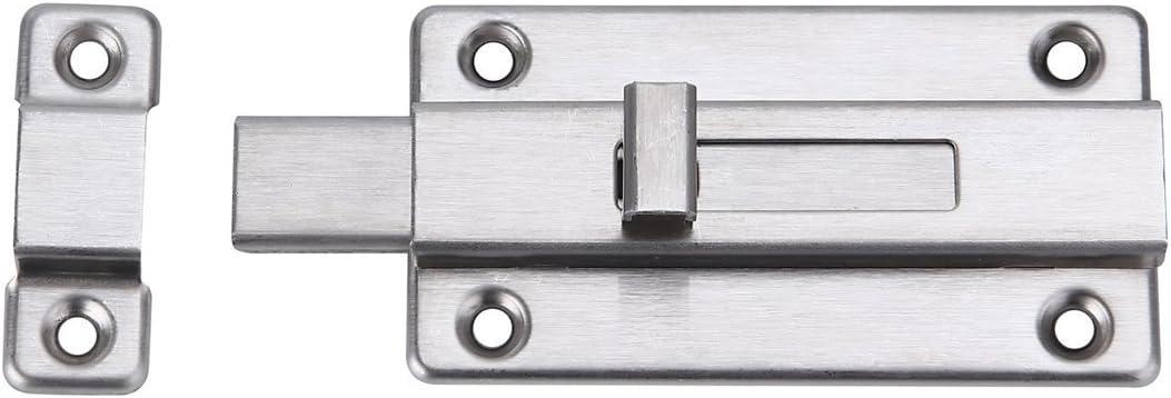 Cierre de seguridad para puerta corredera de acero inoxidable con ...